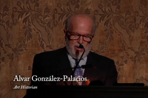 Alvar Gonzàlez-Palacios, Lecture alla Frick collection